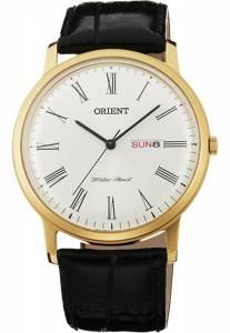 [オリエント]Orient Capital 2 Classic Design Slim Quartz Roman Dial Dress Watch FUG1R007W