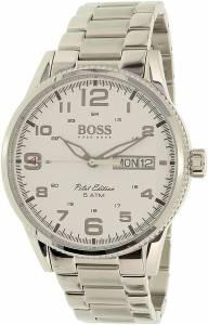 [ヒューゴボス]HUGO BOSS 腕時計 Pilot Edition Analog Dress Quartz Watch 1513328 メンズ
