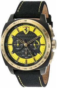 [フェラーリ]Ferrari 腕時計 830291 'AERO EVO' Quartz Resin and Nylon Watch 0830291