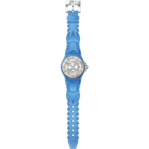[テクノマリーン]TechnoMarine TechnoMarine Blue Silicone Band Steel Case Swiss Quartz 115135