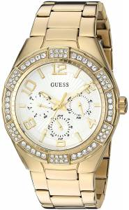 [ゲス]GUESS  Quartz Stainless Steel Automatic Watch, Color:GoldToned U0729L2 レディース