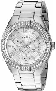 [ゲス]GUESS  Quartz Stainless Steel Automatic Watch, Color:SilverToned U0729L1 レディース