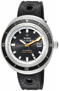 [ゾディアック]Zodiac 'Super Seawolf 68 Extreme' Swiss Automatic Stainless Steel and ZO9501