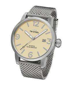 [ティーダブルスティール]TW Steel  'Maverick' Quartz Stainless Steel Casual Watch, MB2