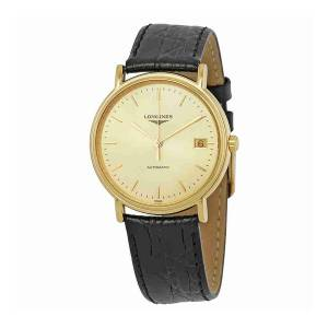 [ロンジン]Longines 腕時計 Presence Leather Automatic Watch L48212322 [並行輸入品]