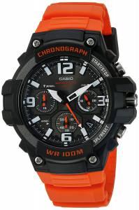 [カシオ]CASIO 腕時計 クロノグラフ MCW-100H-4AV オレンジ メンズ 海外モデル
