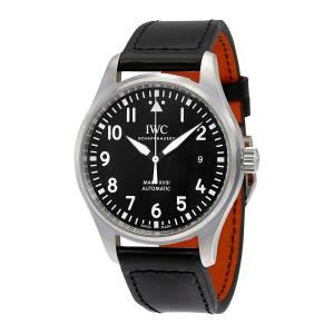 [アイダブルシー]IWC  Pilot's Mark XVIII Automatic Black Dial Watch IW327001 メンズ