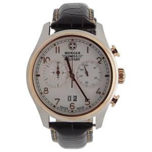 [ウェンガー]Wenger 腕時計 Swiss Army Rose Gold Zermat Chronograph Watch 79020
