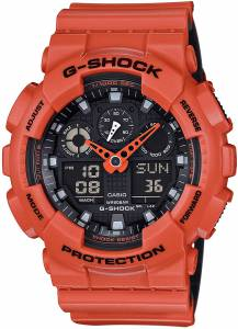 [カシオ]Casio 腕時計 GSHOCK Layered Color Series JAPAN IMPORT GA-100L-4AJF メンズ