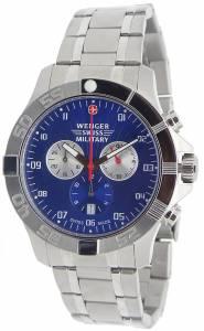 [ウェンガー]Wenger 腕時計 Swiss Army Regiment Sport Chronograph Watch 79218 79218C
