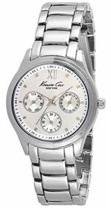 [ケネスコール]Kenneth Cole 37mm Steel Bracelet & Case Quartz SilverTone Dial Analog 10029558