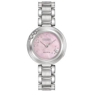 [シチズン]Citizen 腕時計 EcoDrive L CARINA 6Diamond Watch EM0460-50N [逆輸入]