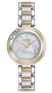 [シチズン]Citizen 腕時計 EcoDrive L CARINA TwoTone 6Diamond Watch EM0464-59D [逆輸入]