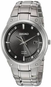[セイコー]Seiko Watches  Seiko Quartz Stainless Steel Casual Watch, Color:SilverToned SNE429