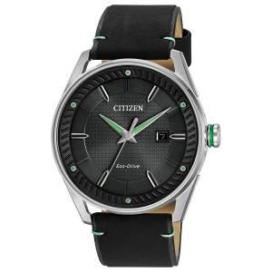 [シチズン]Citizen  Drive from EcoDrive CTO Black Leather Strap Watch BM698008E BM6980-08E