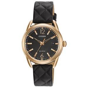 [シチズン]Citizen 腕時計 EcoDrive Leather Strap Watch FE6083-13E レディース [逆輸入]