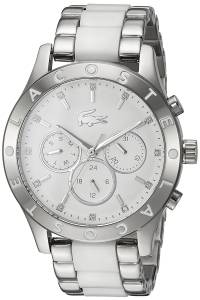 [ラコステ]Lacoste  'CHARLOTTE' Quartz Stainless Steel Casual Watch, Color:SilverToned 2000962