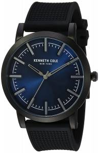 [ケネスコール]Kenneth Cole New York 'Slim' Quartz Stainless Steel and Silicone Dress 10030808