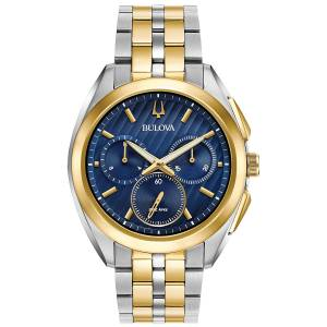 [ブローバ]Bulova 腕時計 Curv Collection Two Tone Watch 98A159 メンズ [並行輸入品]