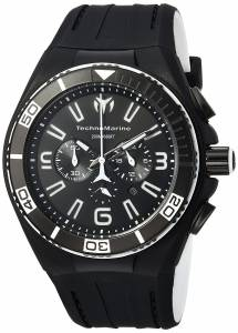 [テクノマリーン]TechnoMarine 'Cruise' Quartz Stainless Steel and Silicone Casual TM-115023