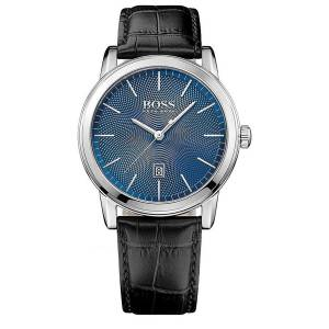 [ヒューゴボス]HUGO BOSS 腕時計 Classic 1 Blue Dial Quartz Watch 1513400 メンズ