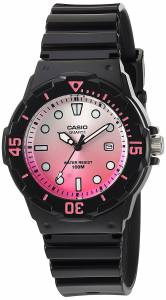 [カシオ]Casio  'Dive Series' Quartz Resin Casual Watch, Color:Black LRW-200H-4EVCR