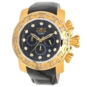 [インヴィクタ]Invicta 腕時計 Lupah Chronograph Black Dial Watch 22489 メンズ