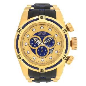 [インヴィクタ]Invicta 腕時計 Bolt Chronograph Gold and Blue Dial Watch 19731 メンズ