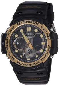 [カシオ]Casio GShock Master of G Smoke Dial Resin Quartz Watch GN1000GB1A GN-1000GB-1ADR (G684)