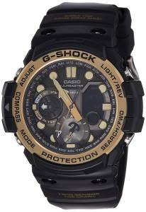 [カシオ]Casio GShock Master of G Smoke Dial Resin Quartz Watch GN1000GB1A GN-1000GB-1ADR (G684)