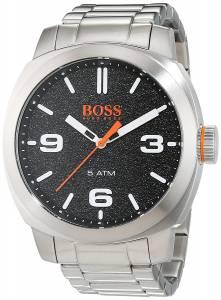 [ヒューゴボス]HUGO BOSS  1513454 Cape Town Black Dial Stainless Steel Watch 7613272221238