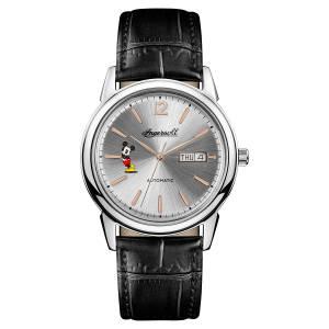[インガソール]Ingersoll Automatic Stainless Steel and Leather Casual Watch, ID00201