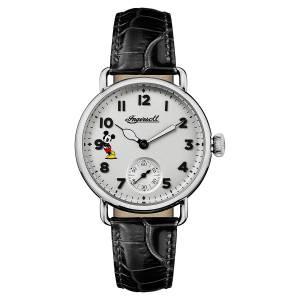 [インガソール]Ingersoll  Quartz Stainless Steel and Leather Casual Watch, ID00101