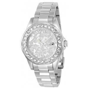 [インヴィクタ]Invicta Disney Steel Bracelet & Case Quartz SilverTone Dial Analog Watch 22869