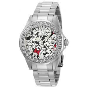 [インヴィクタ]Invicta Disney Limited Edition Black & White Dial Steel Bracelet Crystal 22872