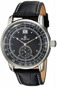 [ブルゲルマイスター]Burgmeister Quartz Metal and Leather Casual Watch, BM333-122