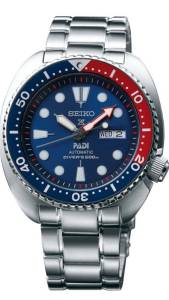 [セイコー]Seiko Watches  Seiko Padi Automatic Prospex Pepsi Turtle Divers 200M Watch SRPA21
