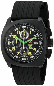 [ルミノックス]Luminox  Tony Kanaan Analog Swiss Quartz Resin Rubber Watch, Black 1101