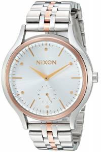 [ニクソン]NIXON  'Sala' Quartz Stainless Steel Casual Watch, Color:SilverToned A9942632-00
