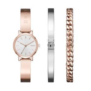 [ダナキャラン]DKNY  'SoHo' Quartz and StainlessSteelPlated Casual Watch, Color:Rose NY2618