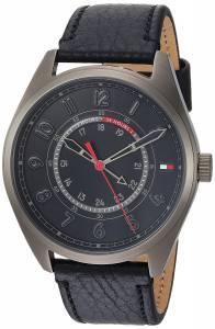 [トミー ヒルフィガー]Tommy Hilfiger 'Sport' Quartz Resin and Leather Casual Watch, 1791374