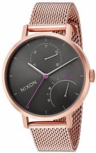 [ニクソン]NIXON  'Clutch' Quartz Stainless Steel Casual Watch, Color:Rose A11662618-00