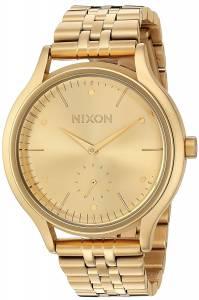 [ニクソン]NIXON  'Sala' Quartz Stainless Steel Casual Watch, Color:GoldToned A994502-00