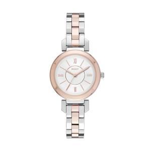 [ダナキャラン]DKNY 'Ellington' Quartz Stainless Steel Casual Watch, Color:SilverToned NY2593