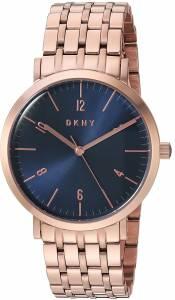 [ダナキャラン]DKNY 'Minetta' Quartz and StainlessSteelPlated Casual Watch, Color:Rose NY2611