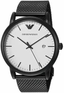[エンポリオアルマーニ]Emporio Armani Quartz Stainless Steel Dress Watch, AR11046