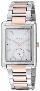 [ダナキャラン]DKNY  Gershwin Two Tone Rose Gold and Silver Watch NY2624 レディース