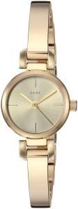 [ダナキャラン]DKNY  'Ellington' Quartz Stainless Steel Casual Watch, Color:GoldToned NY2628