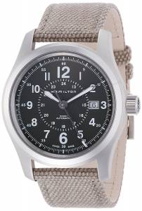 [ハミルトン]Hamilton 腕時計 Khaki Field Automatic Grey Dial Watch H70605163 メンズ