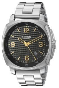 [ニクソン]NIXON  'Charger' Quartz Stainless Steel Casual Watch, Color:SilverToned A10722730